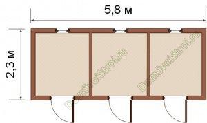 Хозблоки для дачи с душем